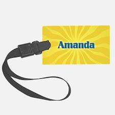 Amanda Sunburst Luggage Tag