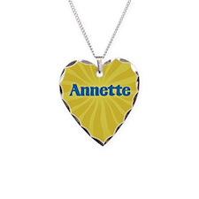 Annette Sunburst Necklace