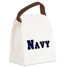 Navy.png Canvas Lunch Bag