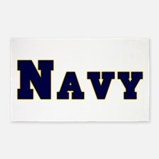 Navy.png 3'x5' Area Rug