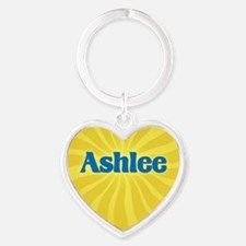 Ashlee Sunburst Heart Keychain
