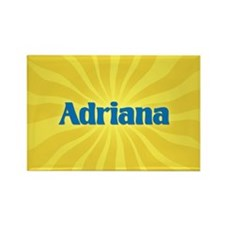 Adriana Sunburst Rectangle Magnet