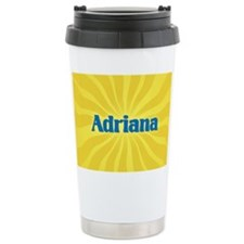 Adriana Sunburst Travel Mug