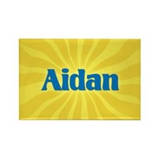 Aidan Sunburst Rectangle Magnet