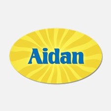 Aidan Sunburst Wall Decal