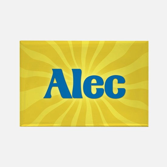 Alec Sunburst Rectangle Magnet