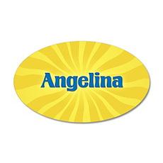 Angelina Sunburst Wall Decal