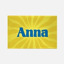 Anna Sunburst Rectangle Magnet