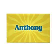 Anthony Sunburst Rectangle Magnet