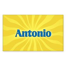 Antonio Sunburst Oval Decal