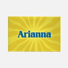 Arianna Sunburst Rectangle Magnet