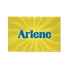 Arlene Sunburst Rectangle Magnet
