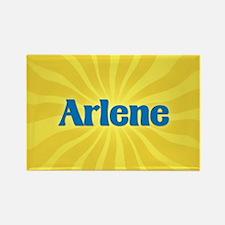 Arlene Sunburst Rectangle Magnet