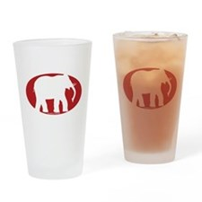 Cute Crimson tide Drinking Glass