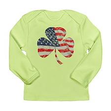 Irish-American Long Sleeve Infant T-Shirt