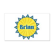 Brian Sunburst 22x14 Wall Peel