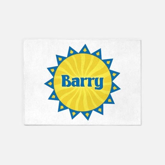 Barry Sunburst 5'x7' Area Rug