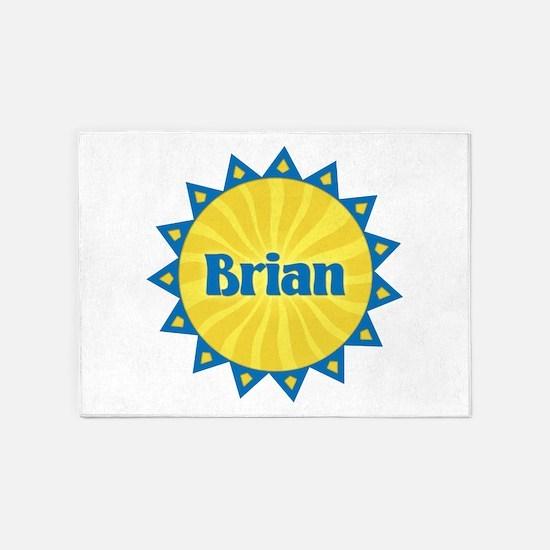 Brian Sunburst 5'x7' Area Rug