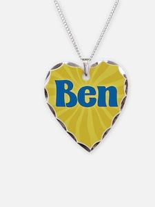 Ben Sunburst Necklace