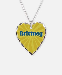 Brittney Sunburst Necklace