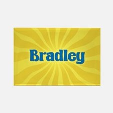 Bradley Sunburst Rectangle Magnet