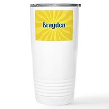 Brayden Sunburst Travel Mug