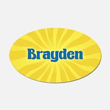 Brayden Sunburst Wall Decal