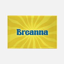 Breanna Sunburst Rectangle Magnet