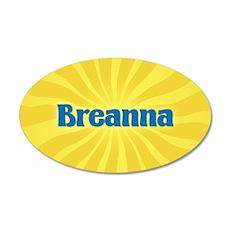 Breanna Sunburst Wall Decal