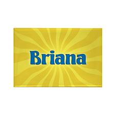 Briana Sunburst Rectangle Magnet