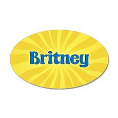 Britney Sunburst Wall Decal
