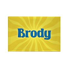Brody Sunburst Rectangle Magnet