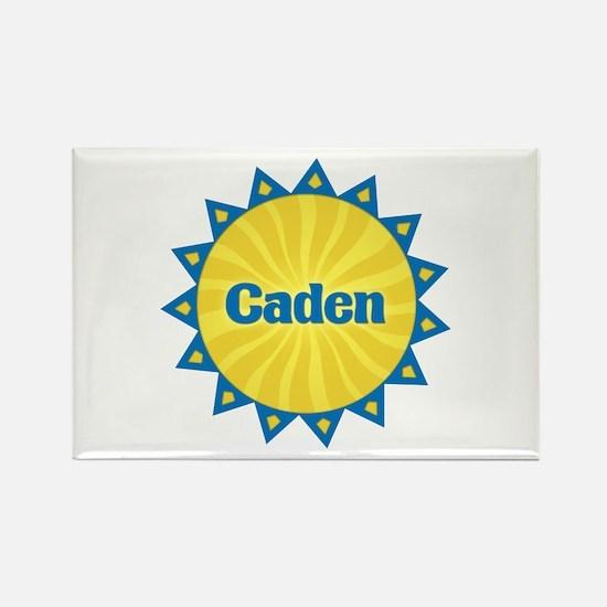 Caden Sunburst Rectangle Magnet
