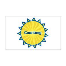 Courtney Sunburst 22x14 Wall Peel