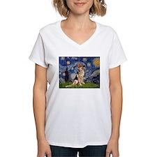 Starry Night & German Shepherd 1 T-Shirt