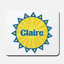 Claire Sunburst Mousepad