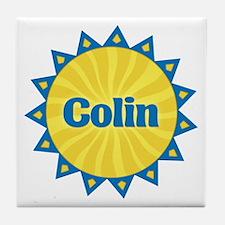 Colin Sunburst Tile Coaster