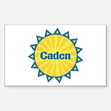 Caden Sunburst Rectangle Decal