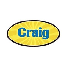 Craig Sunburst Patch