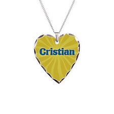 Cristian Sunburst Necklace