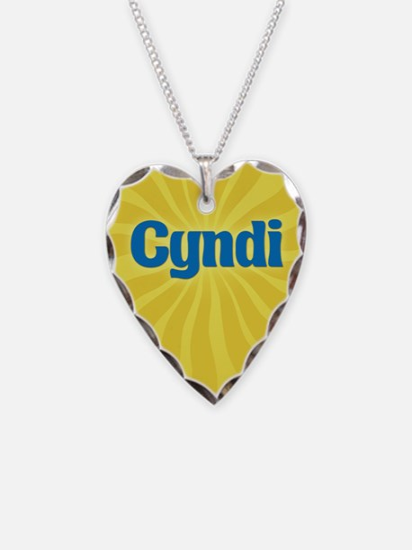 Cyndi Sunburst Necklace