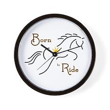 Born to Ride - Wall Clock