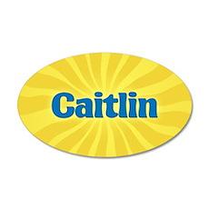 Caitlin Sunburst Wall Decal