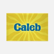 Caleb Sunburst Rectangle Magnet