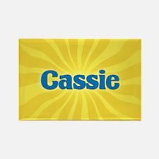Cassie Sunburst Rectangle Magnet