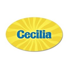 Cecilia Sunburst Wall Decal