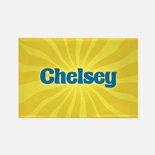 Chelsey Sunburst Rectangle Magnet