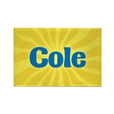 Cole Sunburst Rectangle Magnet