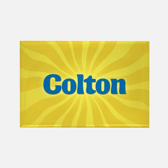 Colton Sunburst Rectangle Magnet