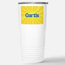 Curtis Sunburst Stainless Steel Travel Mug